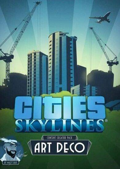 Paradox Interactive Cities: Skylines - Art Deco (DLC) Steam Key GLOBAL