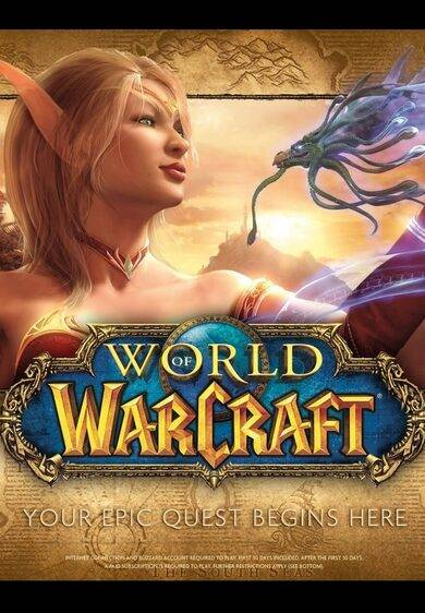 Blizzard Entertainment World of Warcraft Battle Chest 30 Days Battle.net Key EUROPE
