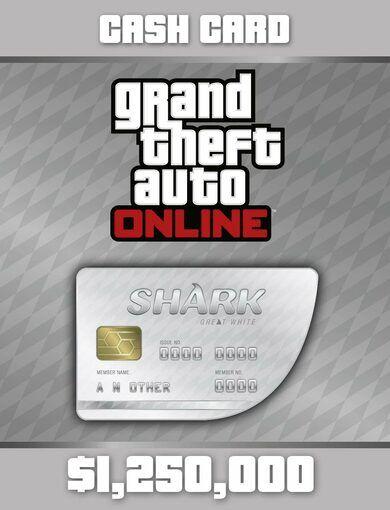 Rockstar Games Grand Theft Auto Online: Great White Shark Cash Card Rockstar Social Club Key GLOBAL