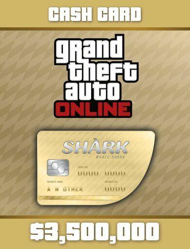Rockstar Games Grand Theft Auto Online: Whale Shark Cash Card Rockstar Social Club Key GLOBAL