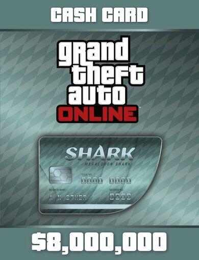 Rockstar Games Grand Theft Auto Online: Megalodon Shark Cash Card Rockstar Social Club Key GLOBAL