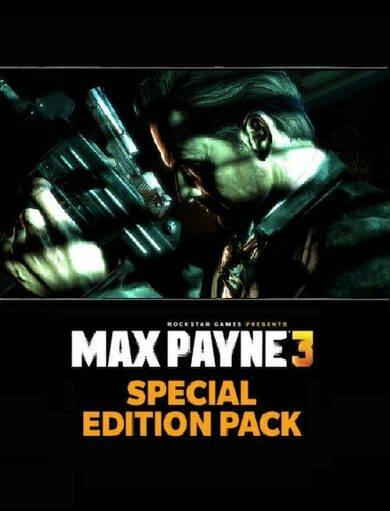Paradox Interactive Max Payne 3 - Special Edition Pack (DLC) Steam Key EUROPE