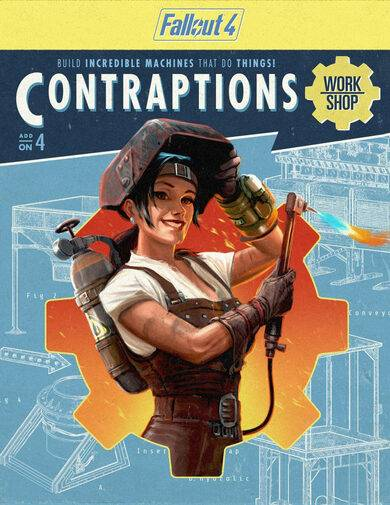 Bethesda Softworks Fallout 4 - Contraptions Workshop (DLC) Steam Key EUROPE