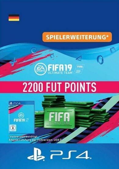 Electronic Arts Inc. FIFA 19 - 2200 FUT Points (PS4) PSN Key GERMANY