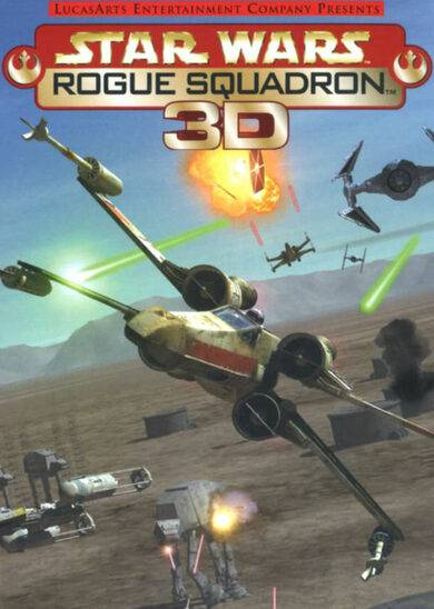 LucasArts / Lucasfilm / Disney Interactive Star Wars: Rogue Squadron 3D Steam Key EUROPE
