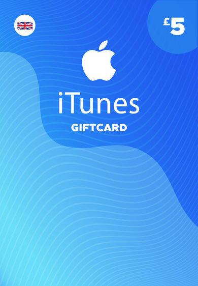Apple iTunes Gift Card 5 GBP iTunes Key UNITED KINGDOM