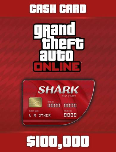 Take 2 Interactive Grand Theft Auto Online - Red Shark Cash Card (DLC) Rockstar Social Club Key EUROPE