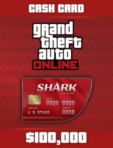 Take 2 Interactive Grand Theft Auto Online - Red Shark Cash Card (DLC) Rockstar Social Club Key EUROPE