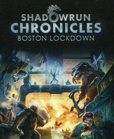 Nordic Games Publishing Shadowrun Chronicles: Boston Lockdown Steam Key GLOBAL