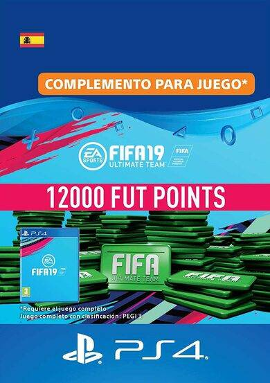 Sony Online Entertainment FIFA 19 - 12000 FUT Points (PS4) PSN Key SPAIN