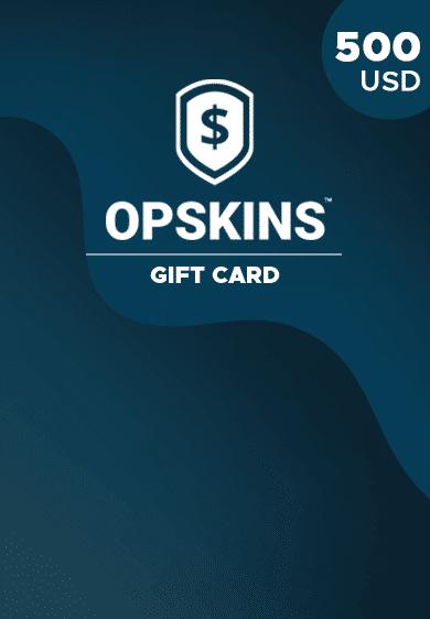 OPSkins 500 USD Gift Card Key GLOBAL