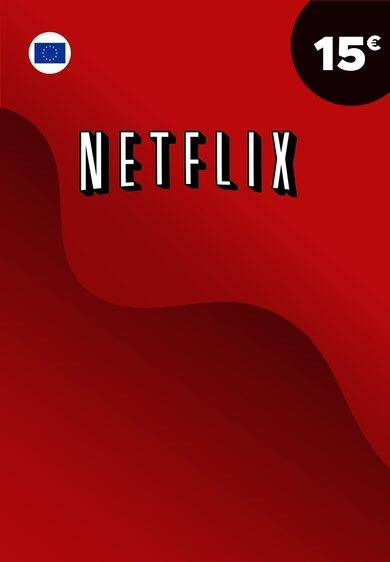 Netflix Gift Card 15 EUR Key EUROPE