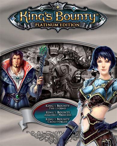 1C / Cenega King's Bounty (Platinum Edition) Steam Key GLOBAL