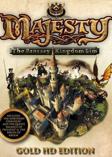 Paradox Interactive Majesty HD (Gold Edition) Steam Key GLOBAL
