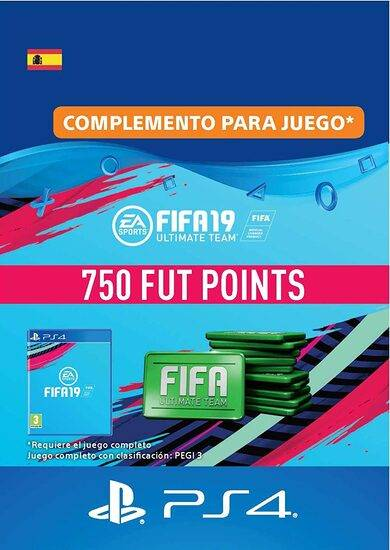 Sony Online Entertainment FIFA 19 - 750 FUT Points (PS4) PSN Key SPAIN