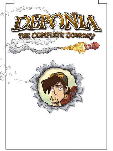 Daedalic Entertainment Deponia: The Complete Journey Steam Key GLOBAL