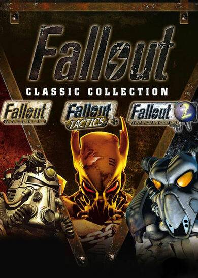 Bethesda Softworks Fallout Classic Collection Steam Key EUROPE