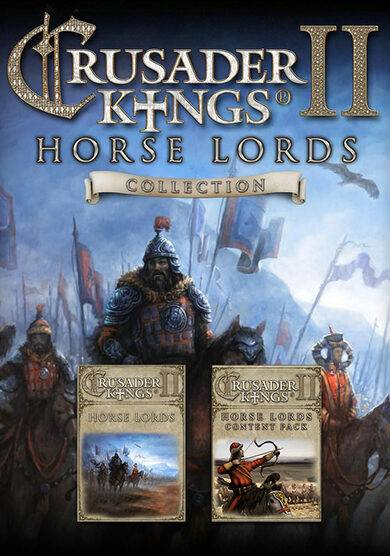 Paradox Interactive Crusader Kings II: Horse Lords Collection Steam Key GLOBAL