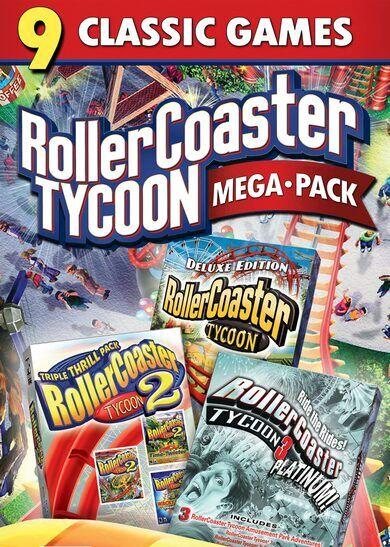 Atari / Infogrames RollerCoaster Tycoon: Mega Pack Steam Key GLOBAL