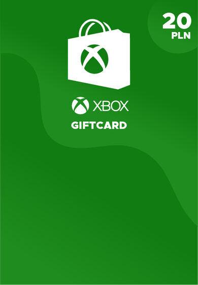 Microsoft Studios Xbox Live Gift Card 20 PLN Xbox Live Key POLAND