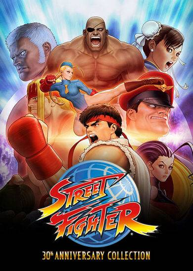 Capcom Street Fighter: 30th Anniversary Collection Steam Key EUROPE