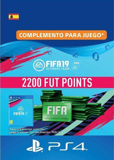Sony Online Entertainment FIFA 19 - 2200 FUT Points (PS4) PSN Key SPAIN