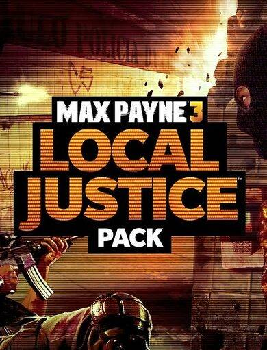 Paradox Interactive Max Payne 3 - Local Justice Pack (DLC) Steam Key EUROPE