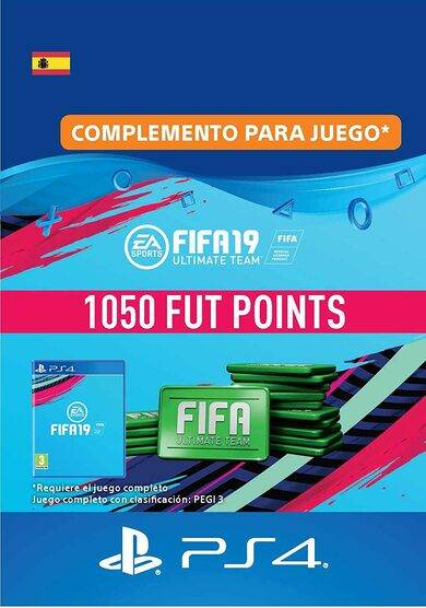 Sony Online Entertainment FIFA 19 - 1050 FUT Points (PS4) PSN Key SPAIN