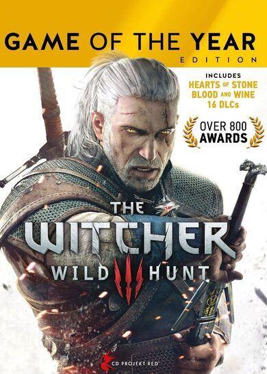 CD Projekt RED The Witcher 3: Wild Hunt GOTY GOG.com Key GLOBAL