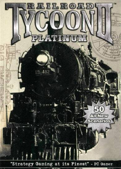 Take 2 Interactive Railroad Tycoon II (Platinum) Steam Key EUROPE