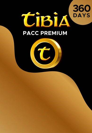 Cipsoft Tibia PACC Premium Time 360 Days Cipsoft Key GLOBAL