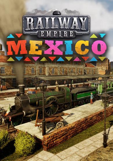 Kalypso Media Digital Railway Empire - Mexico (DLC) Steam Key GLOBAL