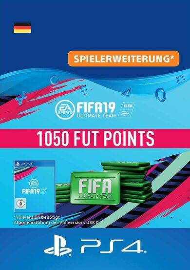 Electronic Arts Inc. FIFA 19 - 1050 FUT Points (PS4) PSN Key GERMANY