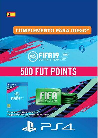 Sony Online Entertainment FIFA 19 - 500 FUT Points (PS4) PSN Key SPAIN