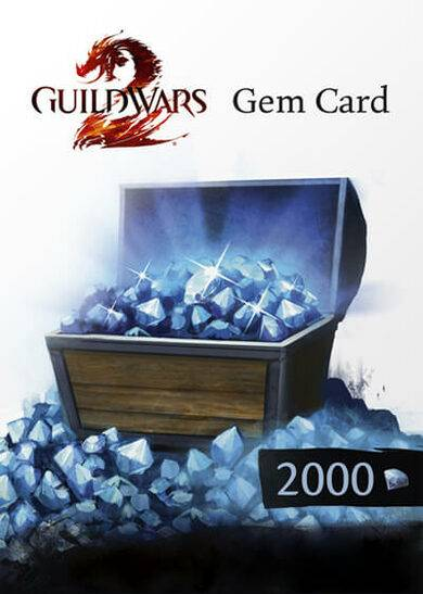 NCsoft Guild Wars 2 2000 Gems Card Official website Key GLOBAL