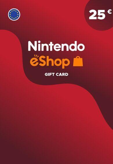 Nintendo eShop Card 25 EUR Key EUROPE