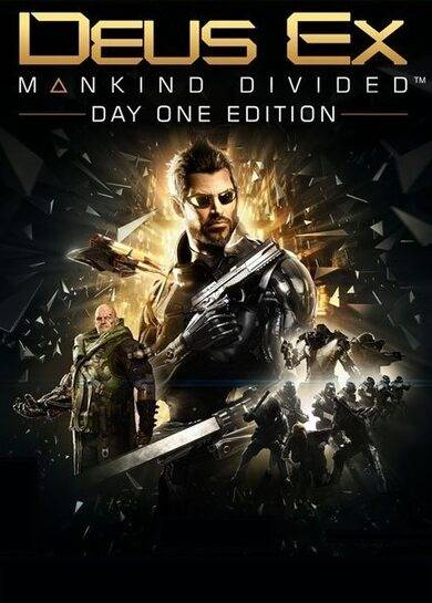 Square Enix Deus Ex Mankind Divided (Day One Edition) Steam Key GLOBAL