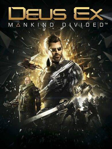 Square-Enix / Eidos Deus Ex: Mankind Divided Steam Key GLOBAL