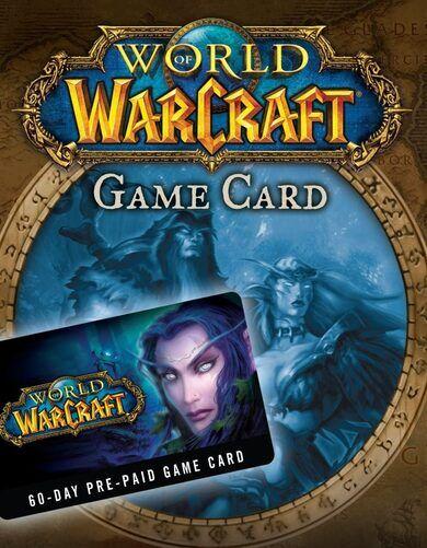 Blizzard Entertainment World of Warcraft 60-day time card Battle.net Key EUROPE