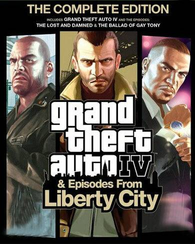 Rockstar Games Grand Theft Auto IV (Complete Edition) Steam Key GLOBAL