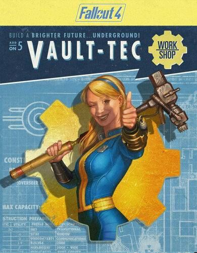 Bethesda Softworks Fallout 4 - Vault-Tec Workshop (DLC) Steam Key EUROPE