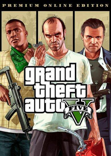 Rockstar Games Grand Theft Auto V: Premium Online Edition Rockstar Social Club Key GLOBAL