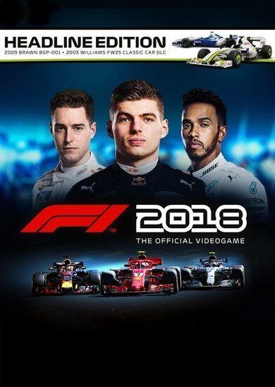Codemasters F1 2018 Headline Edition Steam Key GLOBAL