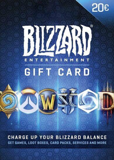 Blizzard Entertainment Battle.net Gift Card 20 EUR Battle.net Key EUROPE