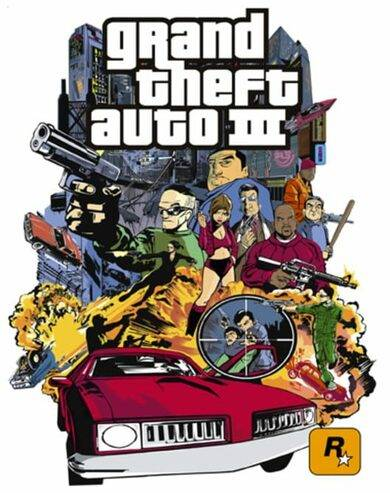 Take 2 Interactive Grand Theft Auto 3 Steam Key GLOBAL