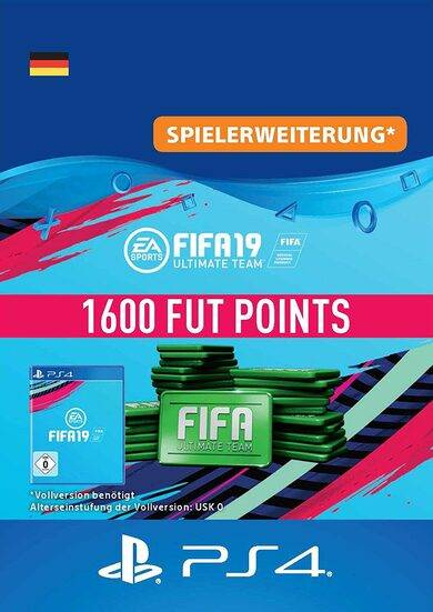 Electronic Arts Inc. FIFA 19 - 1600 FUT Points (PS4) PSN Key GERMANY