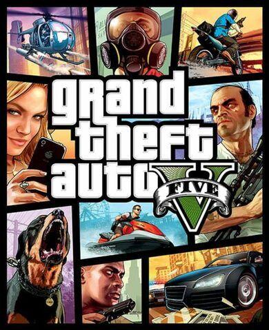 Rockstar Games Grand Theft Auto V Rockstar Social Club Key GLOBAL