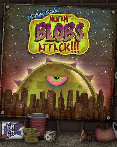 DrinkBox Studios Tales From Space: Mutant Blobs Attack Steam Key GLOBAL
