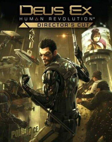 Square-Enix / Eidos Deus Ex: Human Revolution (Directors Cut) Steam Key GLOBAL