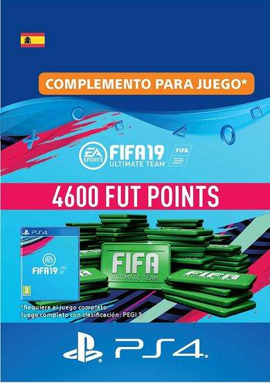 Sony Online Entertainment FIFA 19 - 4600 FUT Points (PS4) PSN Key SPAIN